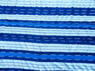 Igarra ikat woman' s wrapper cod. 0745. Handspun cotton. Edo state – Nigeria. Circa 1950. Excellent condition. Measurements: 171cm x 135cm. (67 x 53 inches). LTT - UTT Ikat was quite rare in  ...
