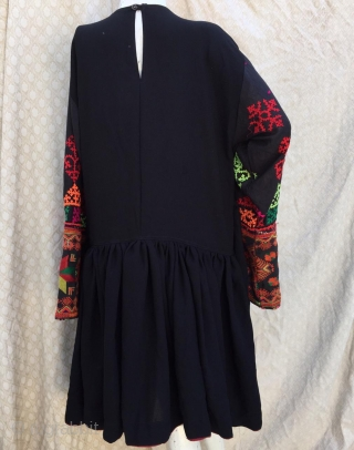 Tribal vintage woman dress from Kohistan Valley in northern Pakistan. 