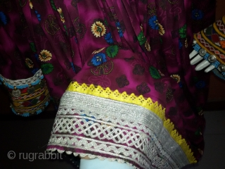 Pashtun Tribal Woman dress from Afghanistan.
