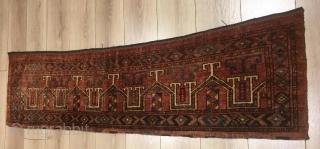 Antique ersari chuval in good condition,173 x 44 cm