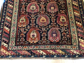 Early ermenian kazak rug in perfect condition, 315 x 115 cm
