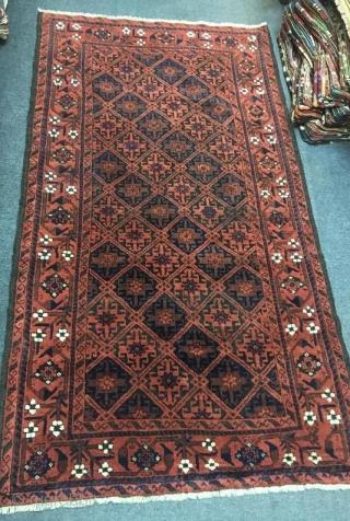 Antique timuri beluch rug,185 x 104 cm