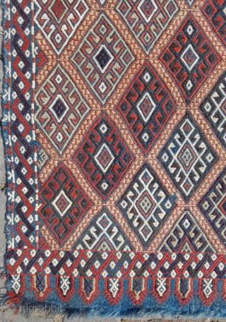 19.th century Anatolian Cicim sıze 58x105