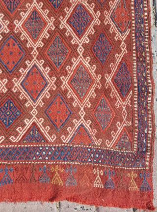 19.th century Anatolian Cicim sıze 80x110