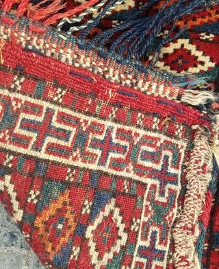 19.century Turkmen Bag Size 46×50