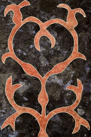 """""""The most beautiful thing we can experience is the mysterious. It is the source of all true art and science."""" Albert Einstein Avar felt carpet, 19th century, Caucasus / Daghestan ... One  ..."""