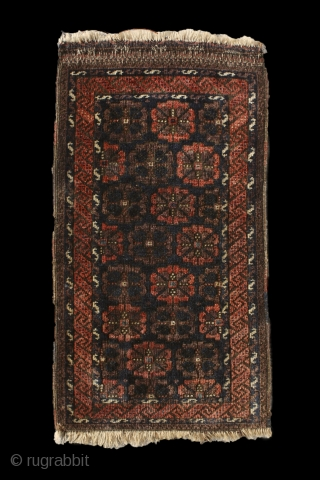 """Flowers grow out of dark moments."" Corita Kent. Rare 'Duh-Göl' baluch balisht, 19th century. In perfect condition, full pile. A simplified version of the 'mina-khani' design? No other balisht known with mina-khani  ..."