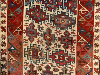 """When the color achieves richness, the form attains its fullness also."" (Paul Cezanne) Shahsavan rug, Caucasus, mid 19th century. Perfect condition. Available. Please ask for more, if interested. More beauties on sale:  ..."