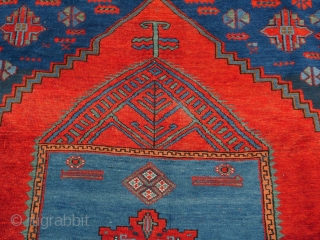 Beautiful Kazak from Tovuz province in Baltali Area of once Persian Azerbaijan which is directly on the outskirts of the Kazak rayon. Tovuz Kazaks are viewed as some of the finest Caucasian carpets.  ...
