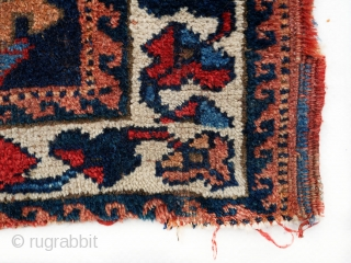 55x55cm Antique Afshar bag face in need of repairs .. A very friendly price 