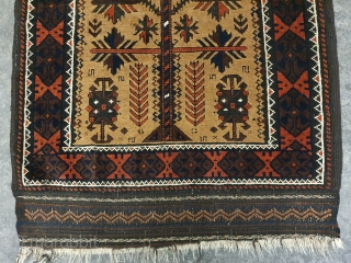 19 Jh beluch,Great natural dyes and condition.  Size,127x74 cm