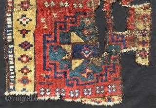 Mid 19th Century East Anatolian Yastık Size.75x65 Cm