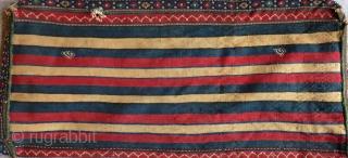 Antique Shahsavan Cecim bedding Bags Size.115x40-115x40 Cm