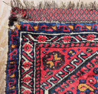 Antique Persian Khamseh Bag face Size.55x50 Cm