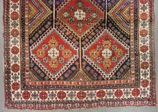 Antique Persian Shiraz Rug Circa 1870.80 Size.195x162 Cm
