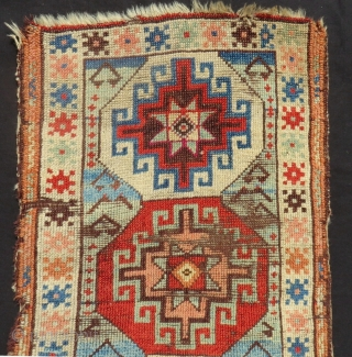 Second 19th Century East Anatolian  Yastık Size.80x48 Cm