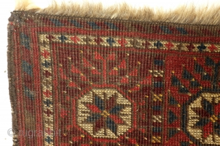 Ersari Beshir, 112 x 72 Cm. Antique. 