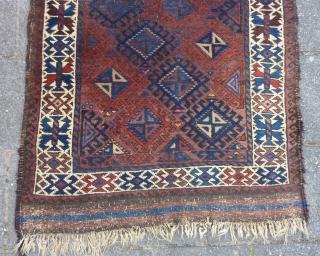 Baluch rug 152 x 89 cm., ca. 1900.