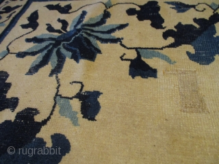 """Antique Peking Chinese Oriental Rug 9'9"""" X 13'5"""" #7886  This 3rd quarter 19th century Peking Chinese Antique Oriental Rug measures 9'9"""" X 13'5"""" (302 x 457 cm). It has an ivory ground with  ..."""