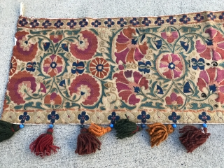 """Very beautiful Old Suzanne size 13"""" wide and 60"""" long."""