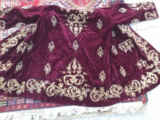 RARE Antique Ottoman embroidered vests.
