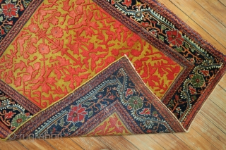Antique 3D JOZAN.  2'3''X2'7''.  EXCELLENT UNTOUCHED ORIGINAL CONDITION