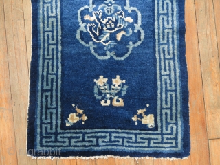 Antique Chinese Peking...  Foo dog medallion.  Size 1'7''x2'5''
