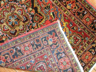 Mint condition Jozan MAt.  2'2''x3'.  Highly decorative colors and design.