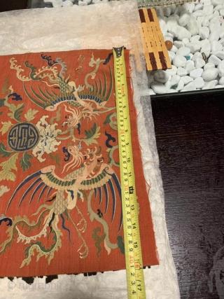 late 17thC Chinese kesi slit weave tapestry