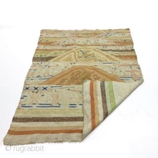 Absolutely Fabulous Chinese flat woven kilim. 145 cms X 203cms.