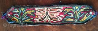 "Beautiful Lakai embroidery 24"" X 4 inches, small 9"" x 2"""