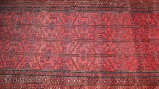 Baluch rug in mint condition measuring 5 x 3 ft. approximately.