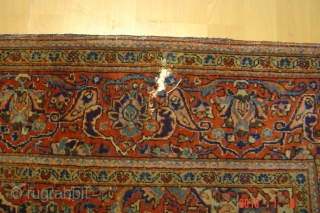 Antique kashan 200cmx132cm pazyryk antique