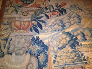 16e century flamish tapestery 320cmx230cm pazyryk antique