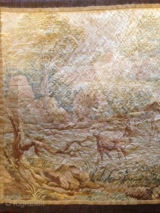 19e century tapestry 150cmx80cm tapestery pazyryk antique