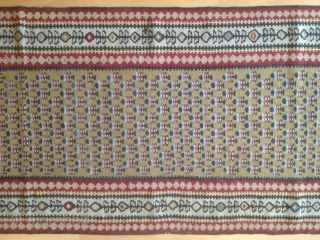 Antique kelim runner