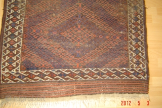 19th century beluch rug