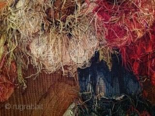 19e century very Fin Silk tapestry 65cmx46cm