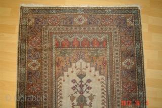 prayer rug 127cm x 87cm pazyryk antique