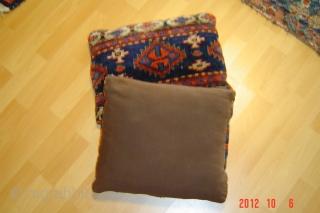 Two antique pillow,s 40cm x 34cm pazyryk antique