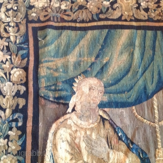 18e century flamish tapestry/ Brussels  267cmx192cm