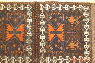 20e cent Beluch pushti 33cm x 30cm pazyryk antique