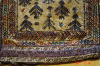 Beluch double face chanteh 34cm x 30cm pazyryk antique