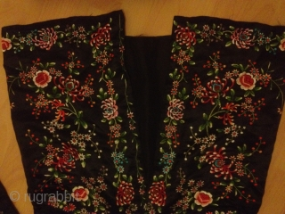 Stunning antique chinese/SILK
