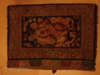 Antique persian afshar bag 45cmx33cm