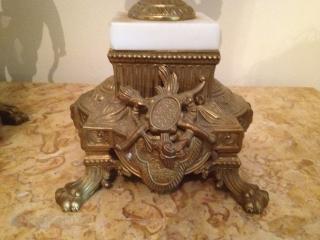 Antique italian klok 65cm h 40cm d
