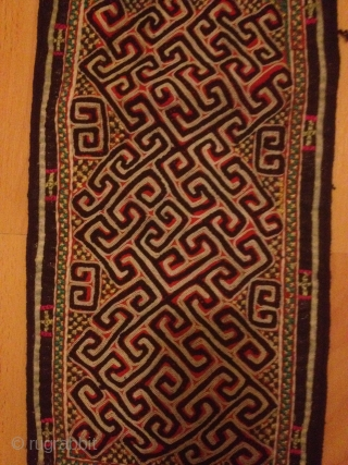 Antique finely woven /needle work