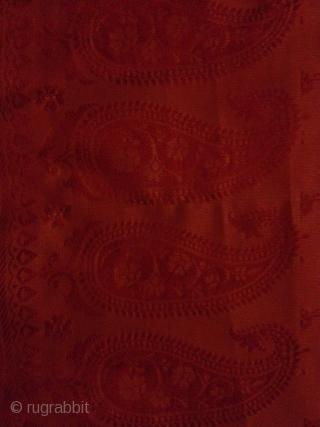 Extreemly fine silk weft ikat? Shawl