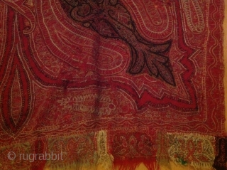 Antique shawl