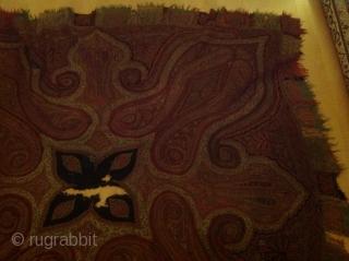 Antique shawl 170cmx170cm
